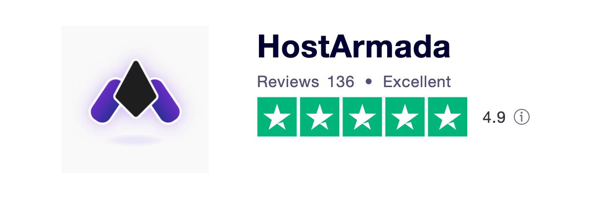 HostArmada Trustpilot Ratings