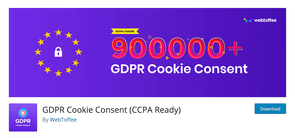 GDPR Cookie Consent (CCPA Ready) WordPress Plugin
