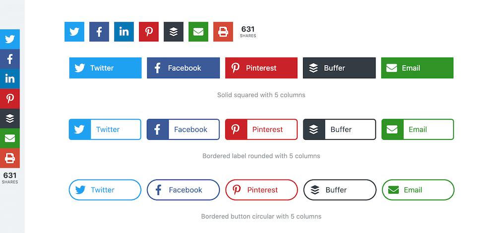 Novashare Social Sharing WordPress Plugin