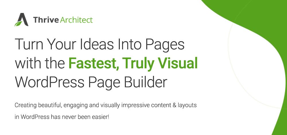 Thrive Architect WordPress Plugin