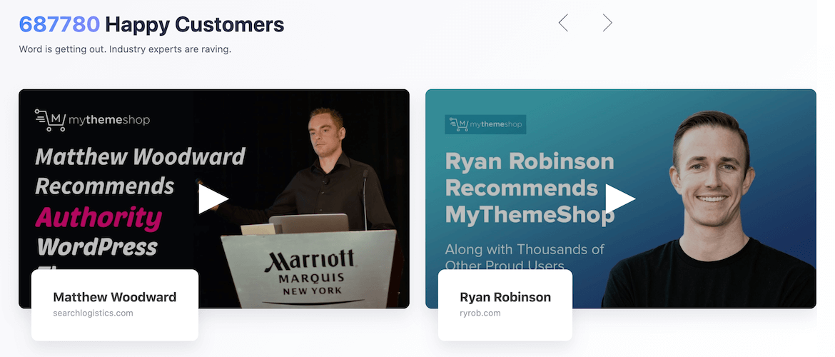 MyThemeShop Review and Testimonials From Influencers