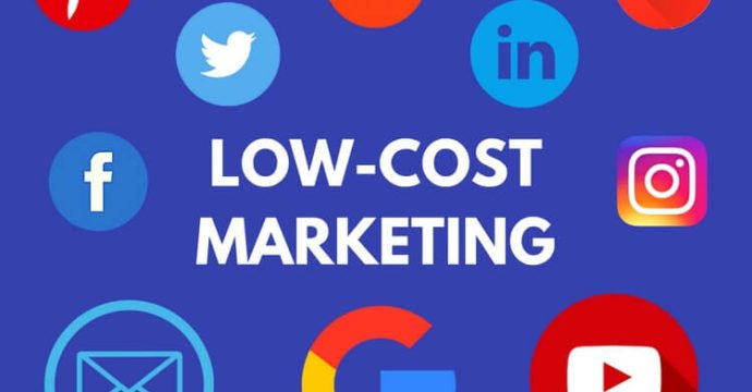 Low-cost marketing techniques including 5Ps