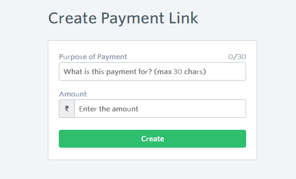 How to Create Instamojo Payment Link