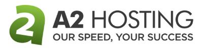 A2 Hosting Logo 400 x 100px