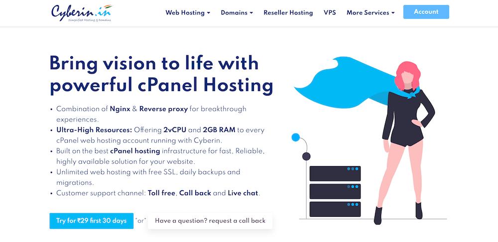 Cyberin Web Hosting