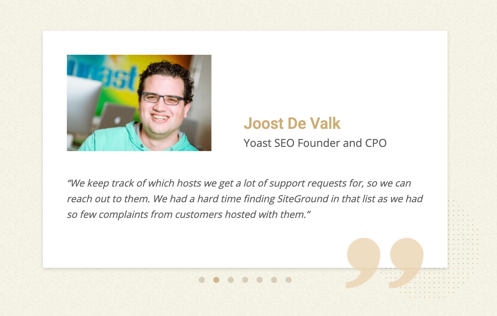 Joost De Valk – Founder and CPO of Yoast SEO