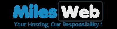 MilesWeb Black Friday and Cyber Monday deals MilesWeb Logo