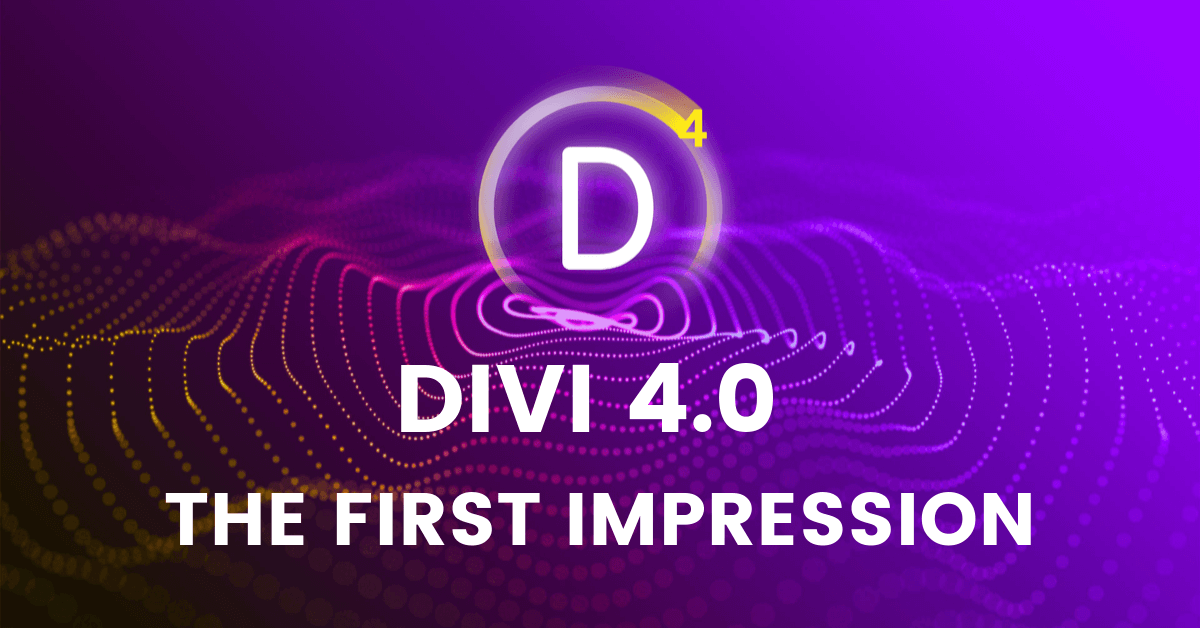Divi visual builder, Divi 4.0, Divi review, Divi Page Builder