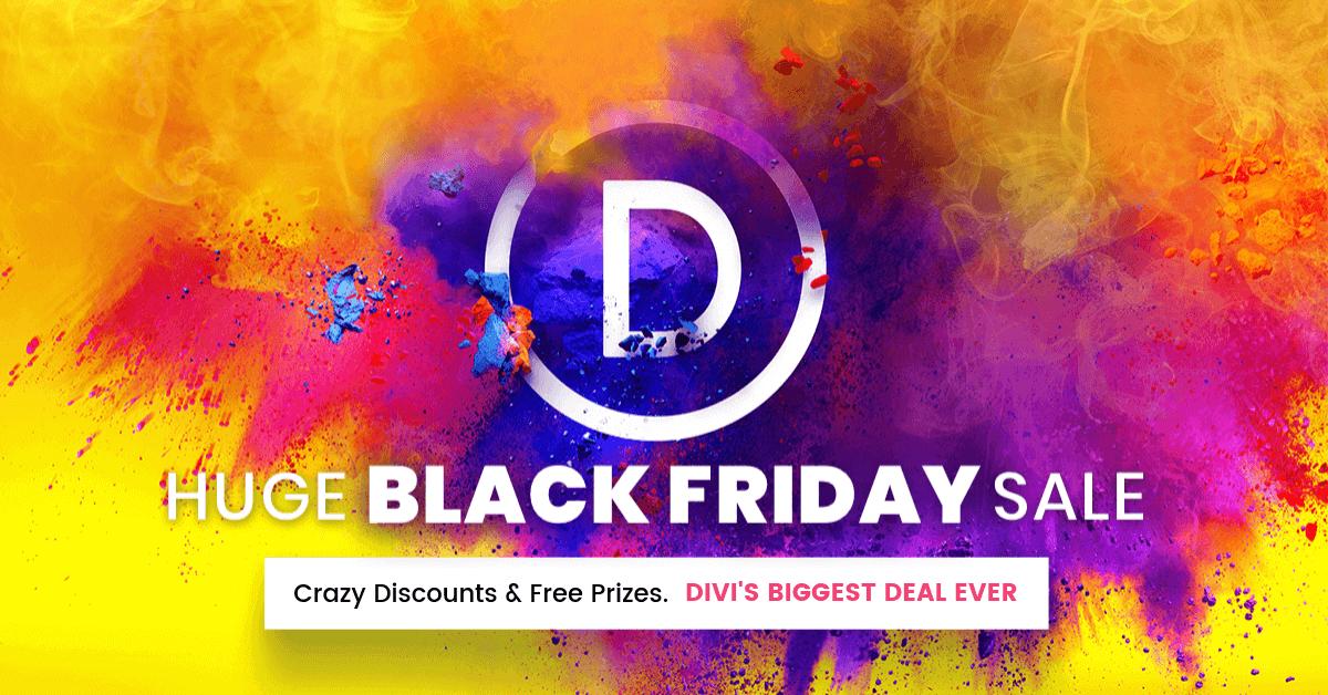 Elegant Themes Divi Black Friday Sale, Elegant Themes Black Friday Sale, Elegant Themes Cyber Monday Sale, Divi Black Friday Deals