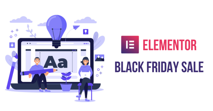 Elementor Black Friday deal, Elementor Black Friday Sale Deals