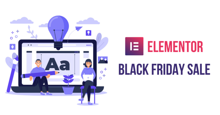 Elementor Black Friday Cyber Monday Deal 2020 | Exclusive 25% Discount