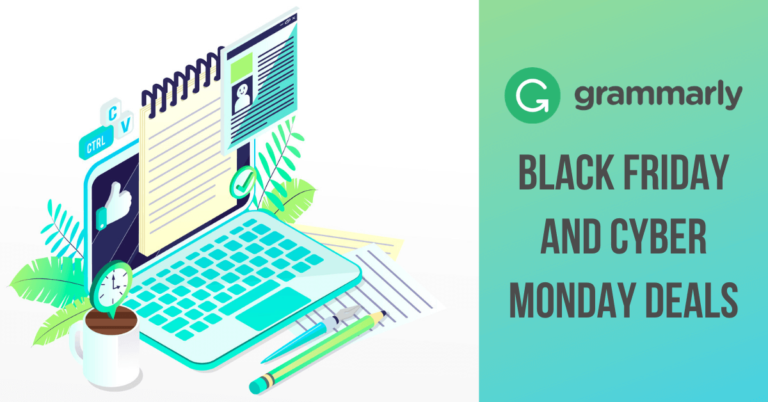 Grammarly Black Friday Sale 2021: 61% OFF Cyber Monday Deals