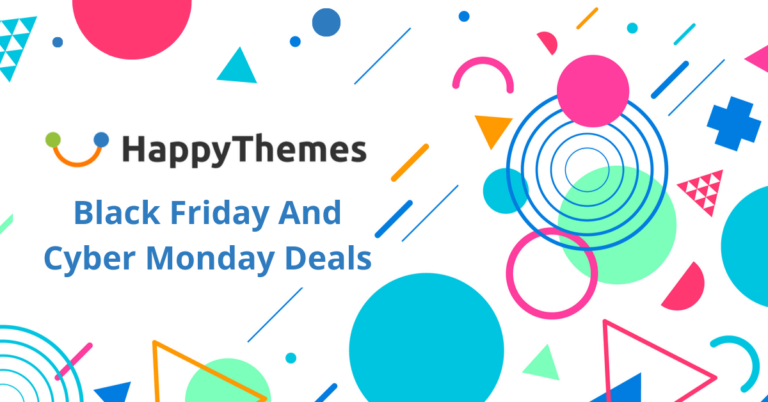 HappyThemes Black Friday Deals 2020 | 50% Off Cyber Monday Coupon Code [Live]