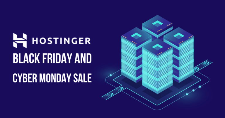 Hostinger Black Friday Sale 2020 | 90% Discount + Free Domain [Live]