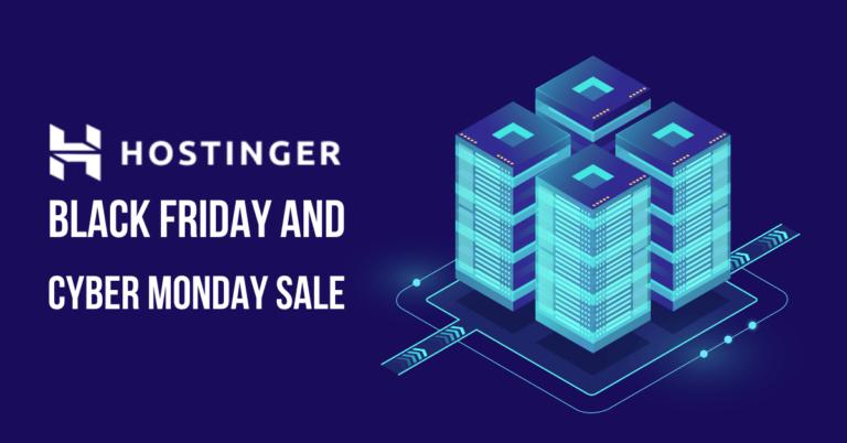 Hostinger Black Friday Sale 2021: 90% Discount + Free Domain [Live]