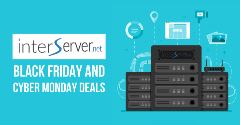 InterServer Black Friday Deals 2020 | 50% OFF Cyber Monday Web Hosting Deals