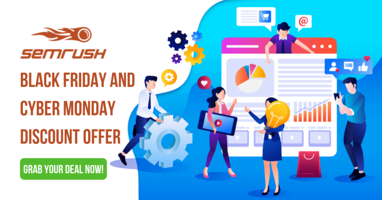 Semrush Black Friday and Cyber Monday Discount Offer 2021