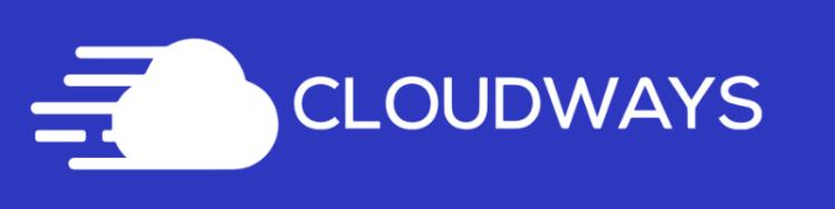 Cloudways Logo White Horizontal