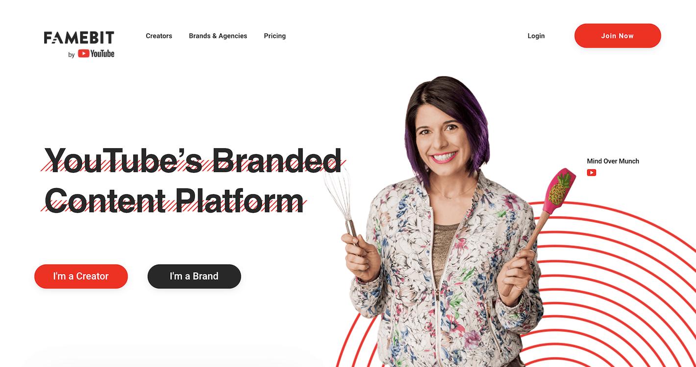 Famebit Brand Partnership