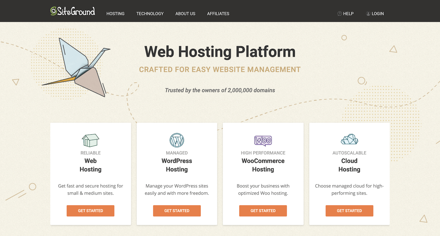 SiteGround Web Hosting Services Overview