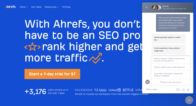 Ahrefs AI Chatbot