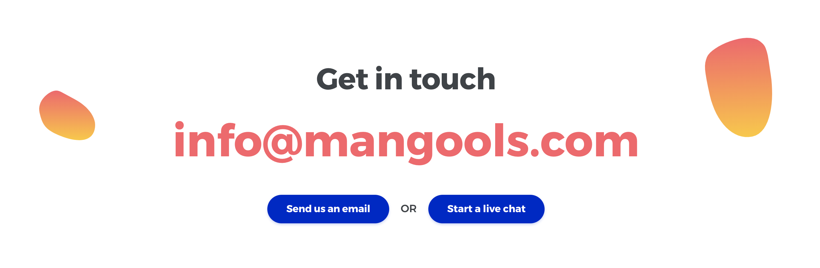 Mangools Support Email