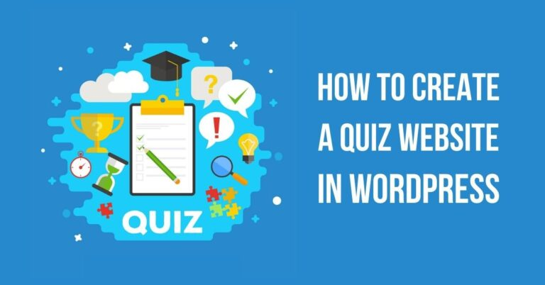 How to Create a Quiz Website in WordPress