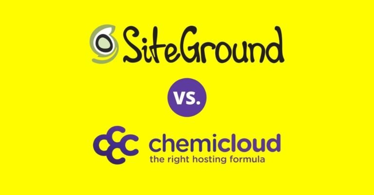 SiteGround vs ChemiCloud