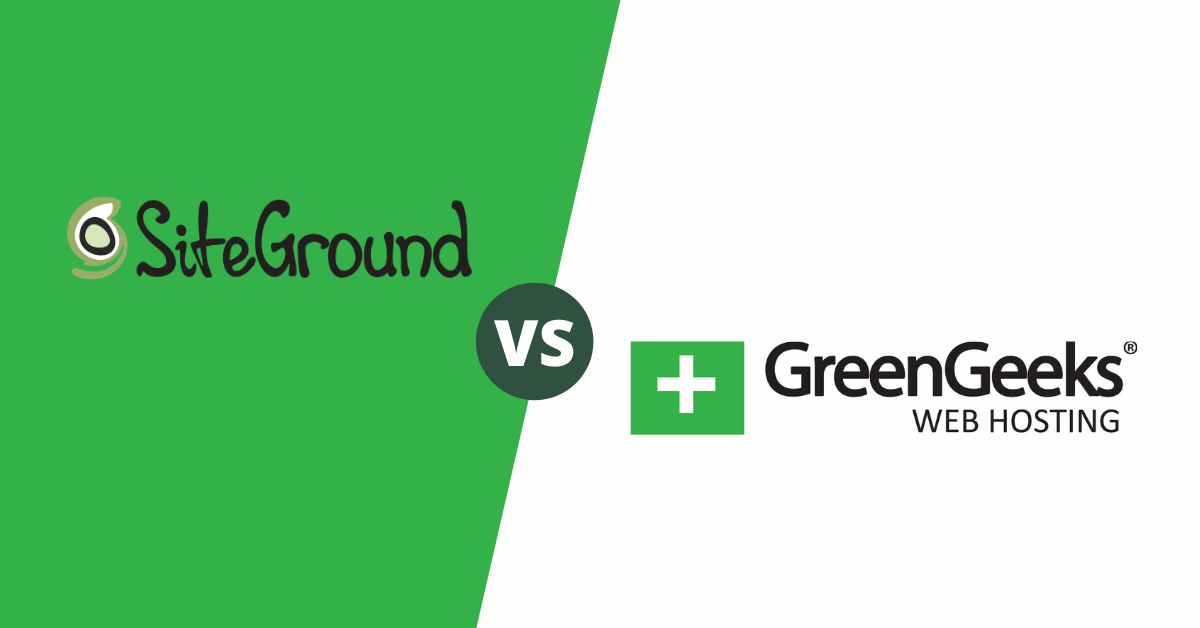 SiteGround vs GreenGeeks