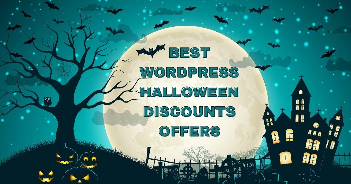 Best WordPress Halloween Deals