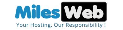 MilesWeb Logo 400 x 100px