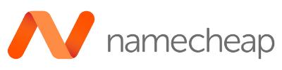 Namecheap WordPress Halloween Deals, Namecheap Logo 400 x 100px