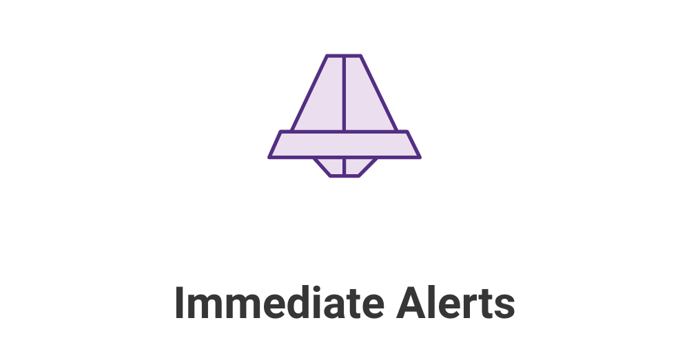 SG Site Scanner Immediate Alerts