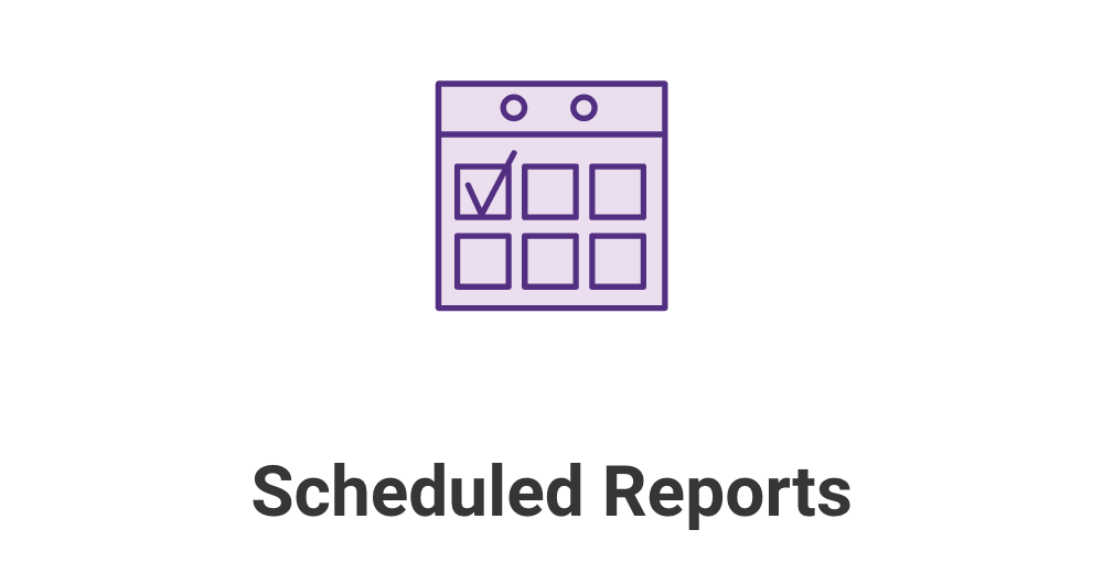 SG Site Scanner Scheduled Reports