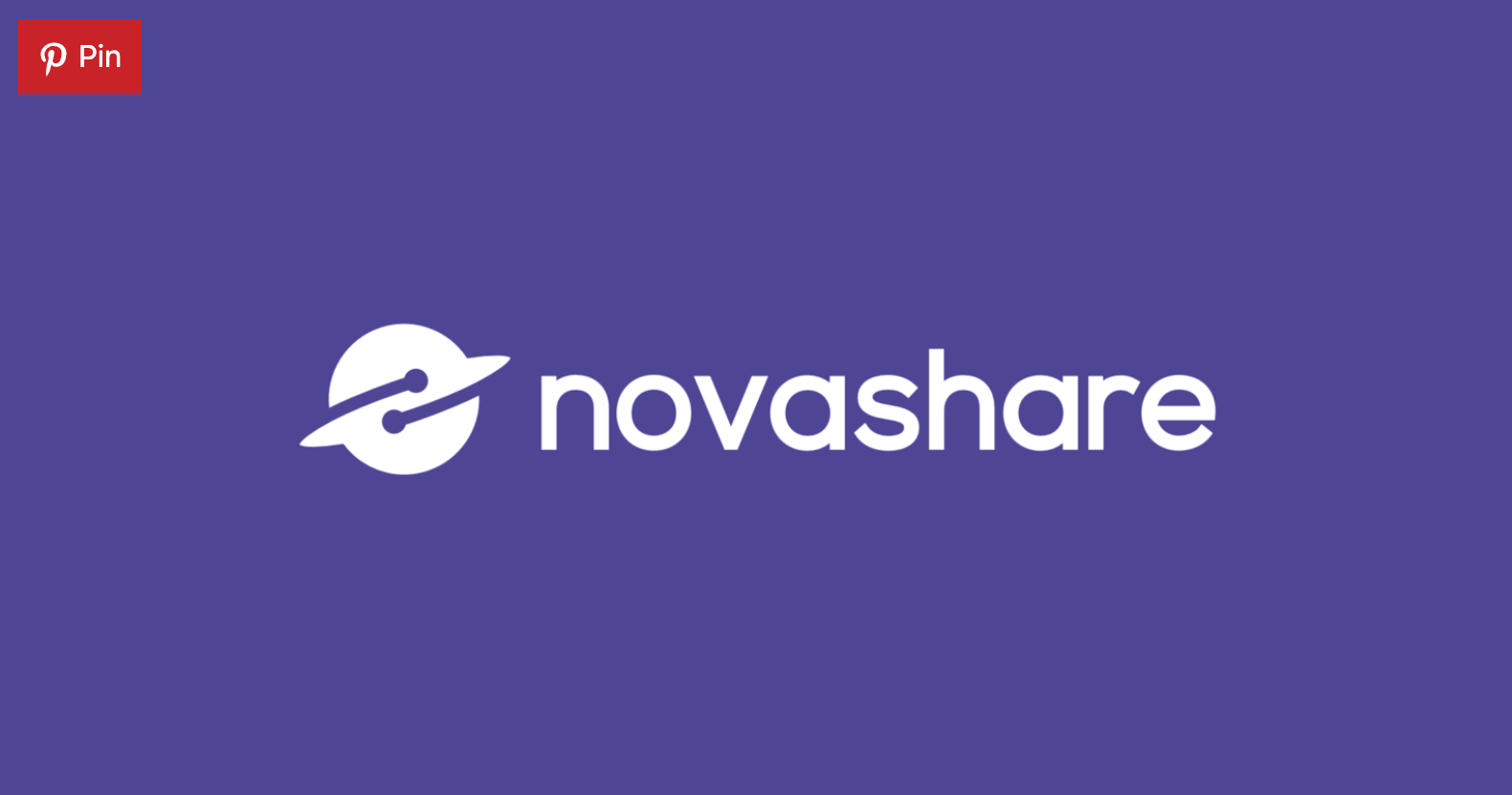 Novashare Image Pins