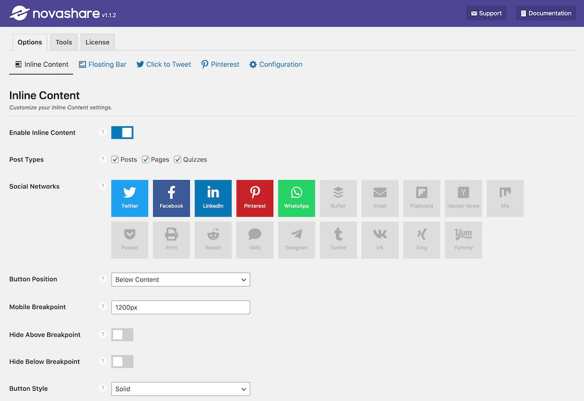 Novashare UI