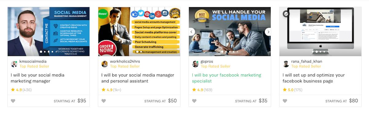 Fiverr Social Media Marketing Services