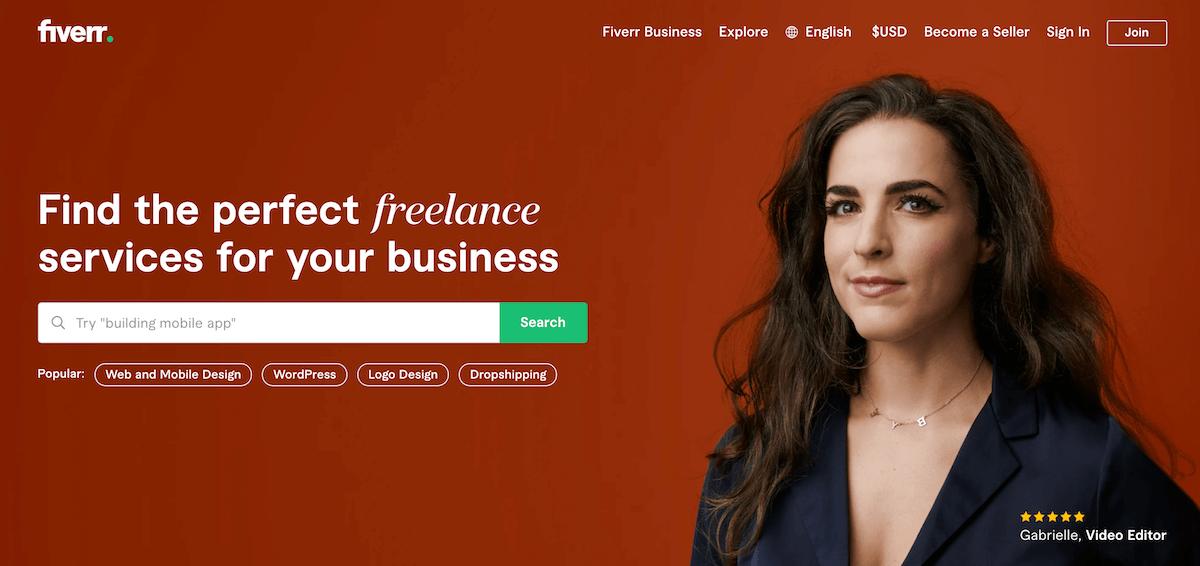 Fiverr.com Freelance Marketplace