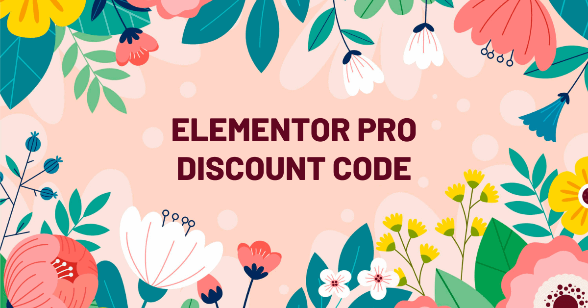 Elementor Pro Discount Code, Latest Pricing