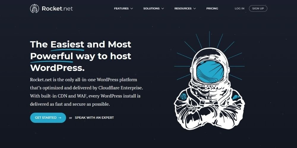 WPX Hosting Alternative Rocket.net Hosting
