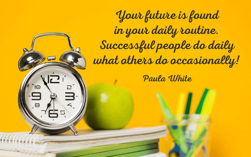 Paula White Quotes on Daily Routine, Your future is found in your daily routine. Successful people do daily what others do occasionally!
