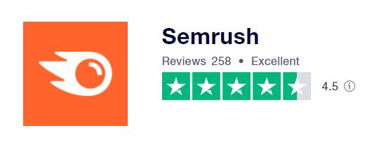 Semrush Trustpilot Ratings