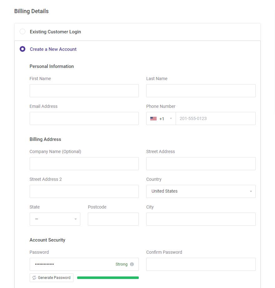 ChemiCloud Coupon Code Billing Details