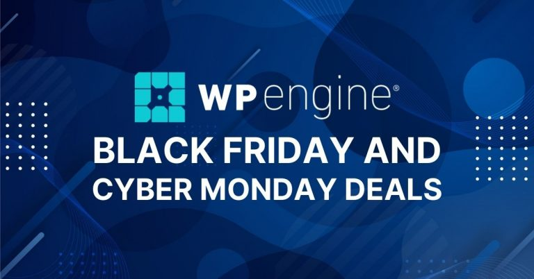 WP Engine Black Friday Cyber Monday Deals 2021