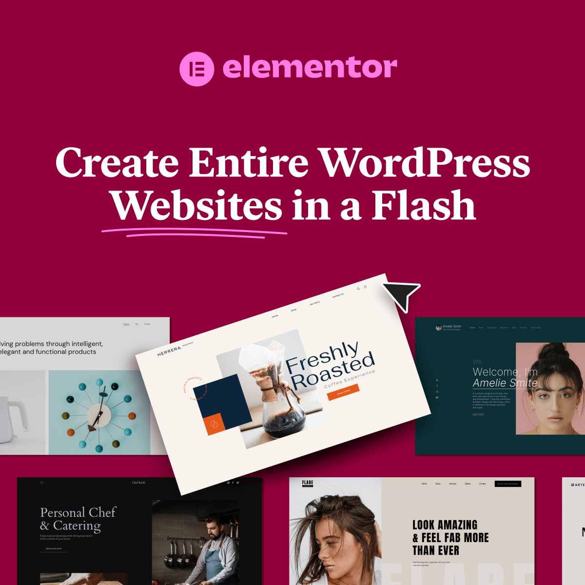 Create Entire WordPress Websites in Flash with Elementor Template Kits