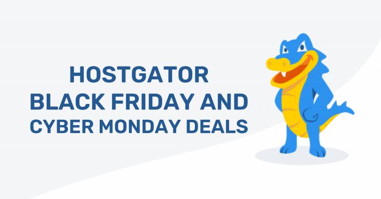 HostGator Black Friday Deals 2021: 75% Off Coupon Code [Live]