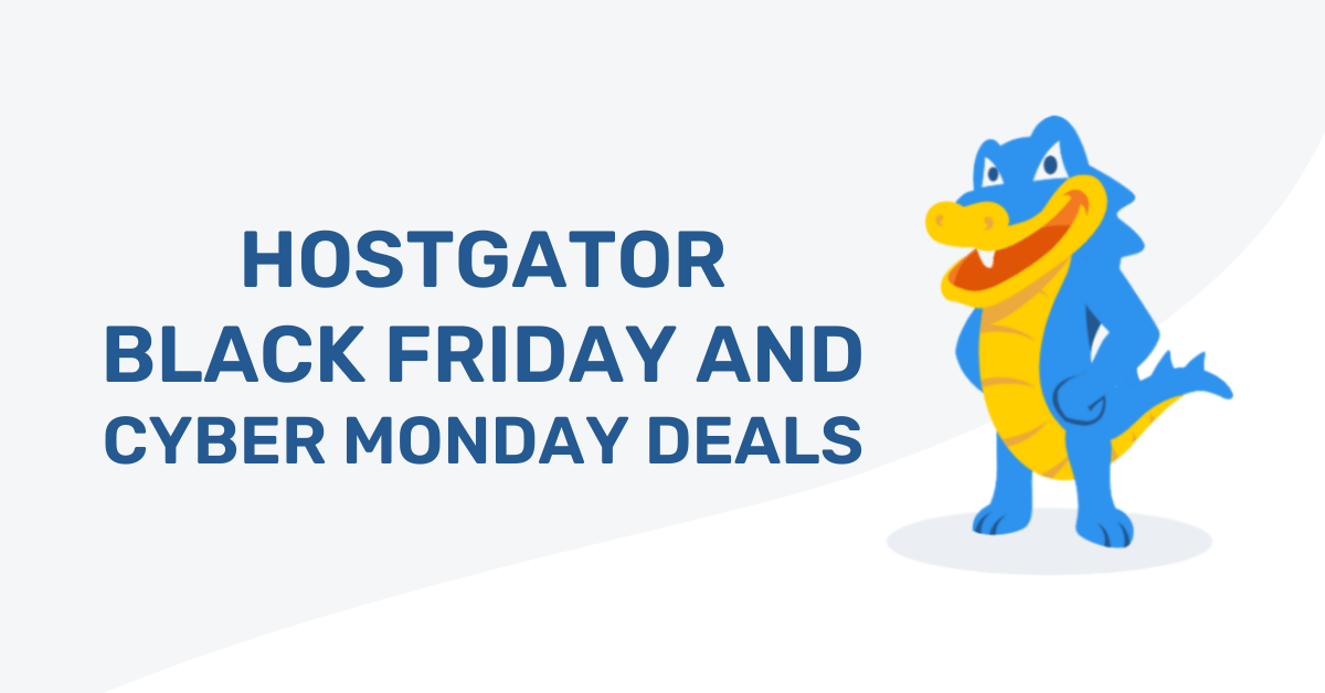 HostGator Black Friday Deals Discount Offers Coupon Code