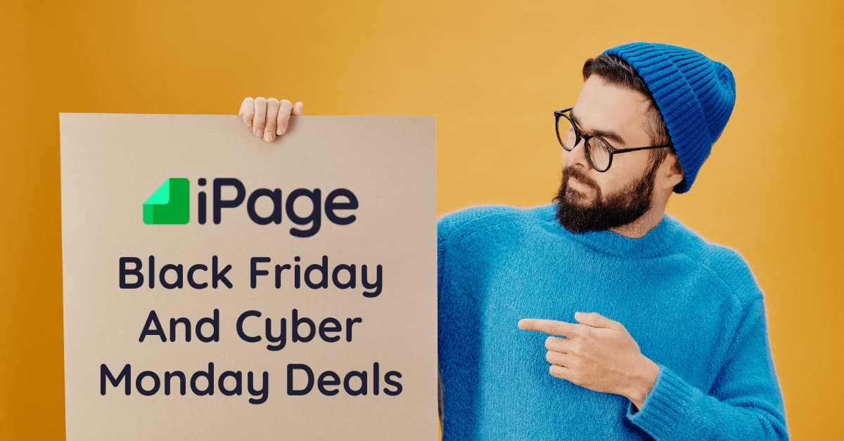 iPage Black Friday Deals Cyber Monday Sale Discount Offers