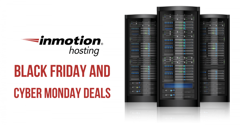 InMotion Hosting Black Friday and Cyber Monday Deals, InMotion Hosting Black Friday deals