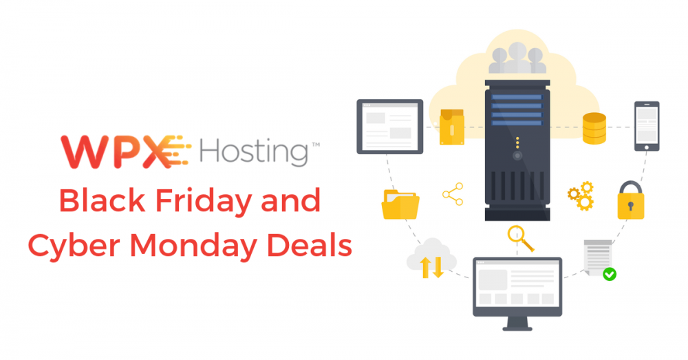 WPX Hosting Black Friday Deals, WPX Hosting Cyber Monday Sale